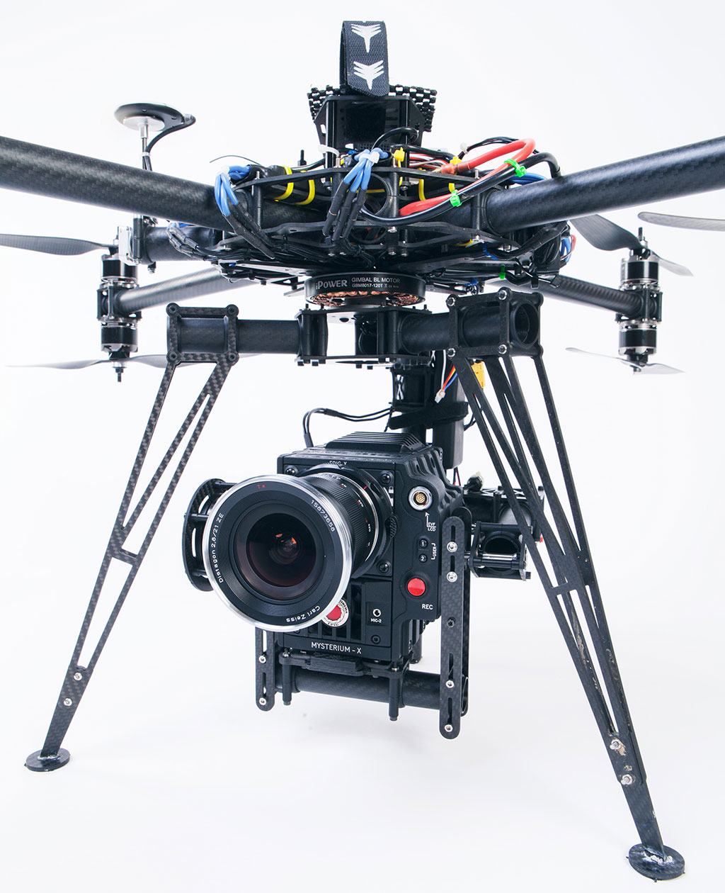 Helivideo Red Epic octocopter