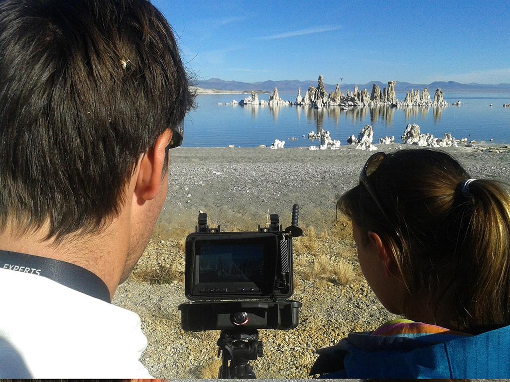FILM CREW MONO LAKE